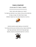 Types of Bugs: Insect and Arachnid Song