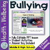 Types of Bullying Lesson