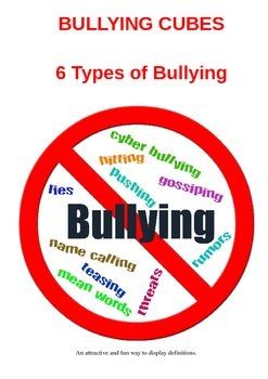 Bullying Cube