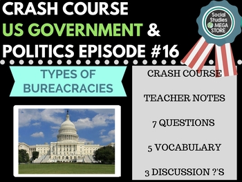 Types of Bureaucracies: Crash Course Government and Politics #16