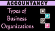 Types of Business Organizations | Sole Proprietor | Partnership Firm | JSC