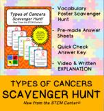 Types of Cancers Scavenger Hunt