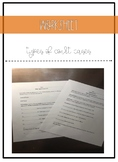 Types of Court Cases Worksheet