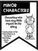 Types of Character Banners Friendly Monster Theme ~Black & White~ Easy Printing