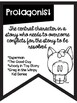Types of Character Banners with Farm Theme ~Black & White~ For Easy Printing