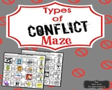 Types of Character Conflicts: Picture Maze