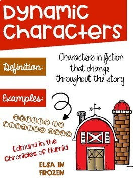 Types of Character Posters ~Farm Theme~