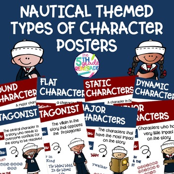 Types of Character Posters ~Nautical Themed~