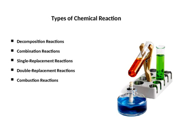 Types of Chemical Reactions with examples (Presentation an
