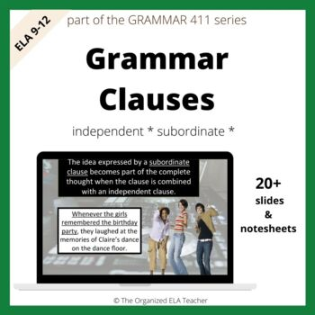 Types of Clauses - Grammar 101