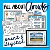Types of Clouds Activities - Print & Digital