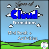 Types of Cloud Formations - Book plus Activities