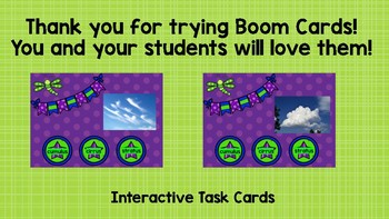 Types of Clouds Boom Cards