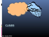 Types of Clouds Intro or Review Powerpoint