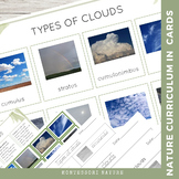 Types of Clouds | Nature Curriculum in Cards | Montessori