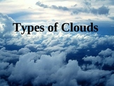 Types of Clouds PowerPoint and Quiz