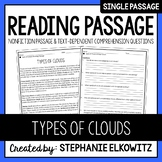 Types of Clouds Reading Passage