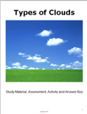 Types of Clouds Workbook Activity