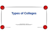Types of Colleges Power Point