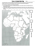 Types of Colonial Rule in Africa