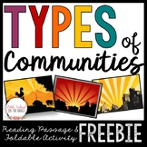 Types of Communities FREEBIE | Distance Learning Google Classroom