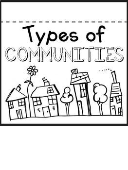 Types of Communities Flip Book