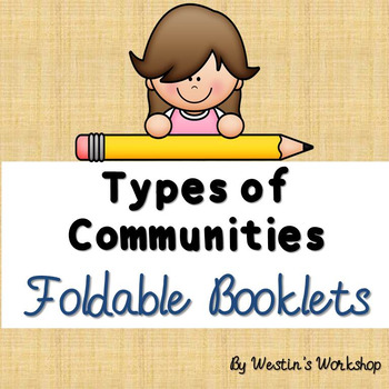 Types of Communities Foldable Booklets