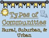 Types of Communities in Louisiana Graphic Organizers