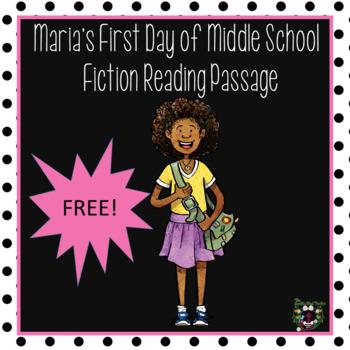 Fiction Reading Passage