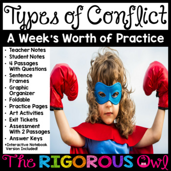 Types of Conflict Week Lesson and Practice