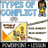 Types of Conflict Lesson Plan