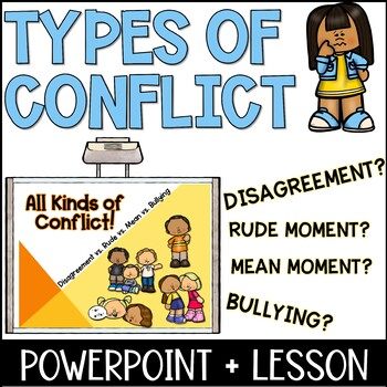 Types of Conflict Lesson Plan - Disagreement vs. Rude vs.