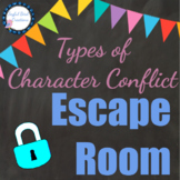 "Types of Conflict ""Escape Room"" Stations Activity"