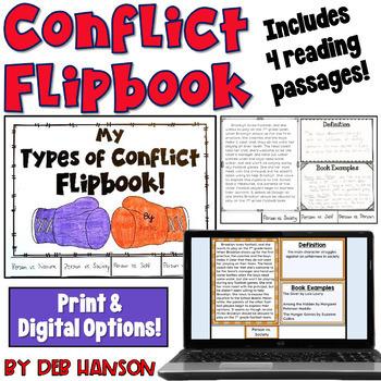 Types of Conflict Flipbook