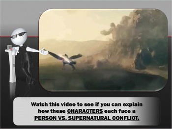 Types of Conflict - Interactive Powerpoint Animated Adventure