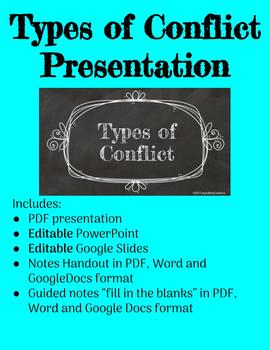 Types of Conflict Notes Slides