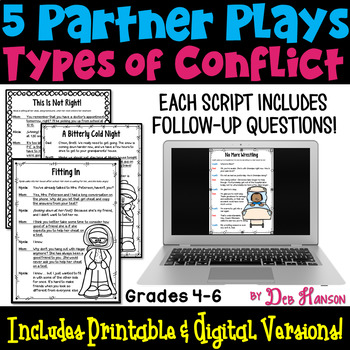 Types of Conflict Partner Plays