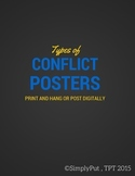 ELA Types of Conflict Posters for the Classroom