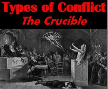 Types of Conflict: Project & Paper - Common Core Aligned