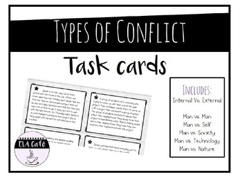 Types of Conflict Task Cards