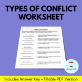 Types of Conflict Worksheet