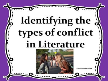 Types of Conflict in Literature Powerpoint Game
