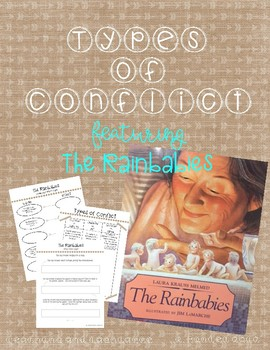 Types of Conflict with the story Rainbabies