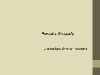 Types of Demographics PowerPoint