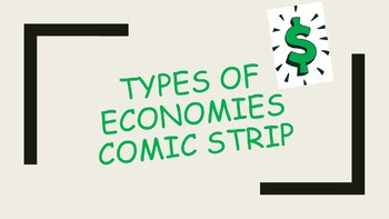 Types of Economic Systems Comic Strip