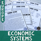 Types of Economic Systems in Europe Reading & Writing Activity (SS6E7, SS6E7c)