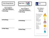 Types of Energy - Brochure