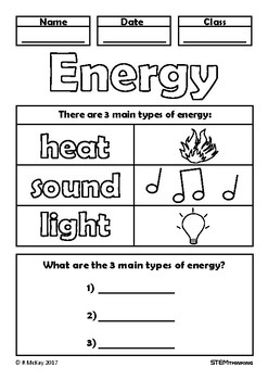 forms of energy coloring pages - photo#34