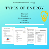 Types of Energy Complete Lesson Plan