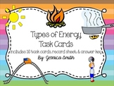 Types of Energy Task Cards